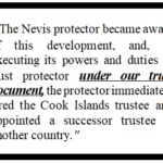 LAWSUITS IN THE COOK ISLANDS: PROPER TRUST STRUCTURING SAVES THE DAY (and the trust)!