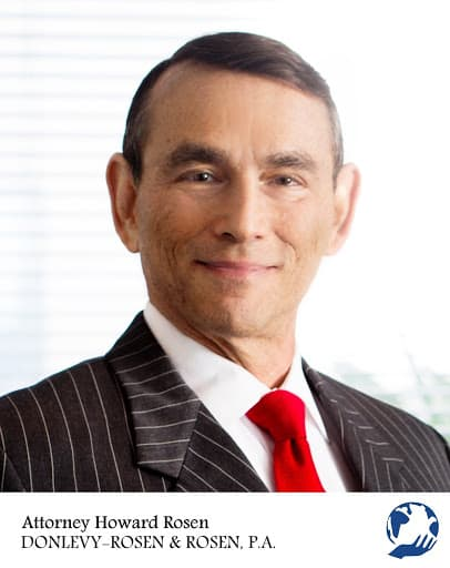 headshot view of Howard Rosen asset protection attorney in USA